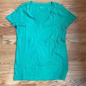 J.Crew Vintage Green T-Shirt Medium
